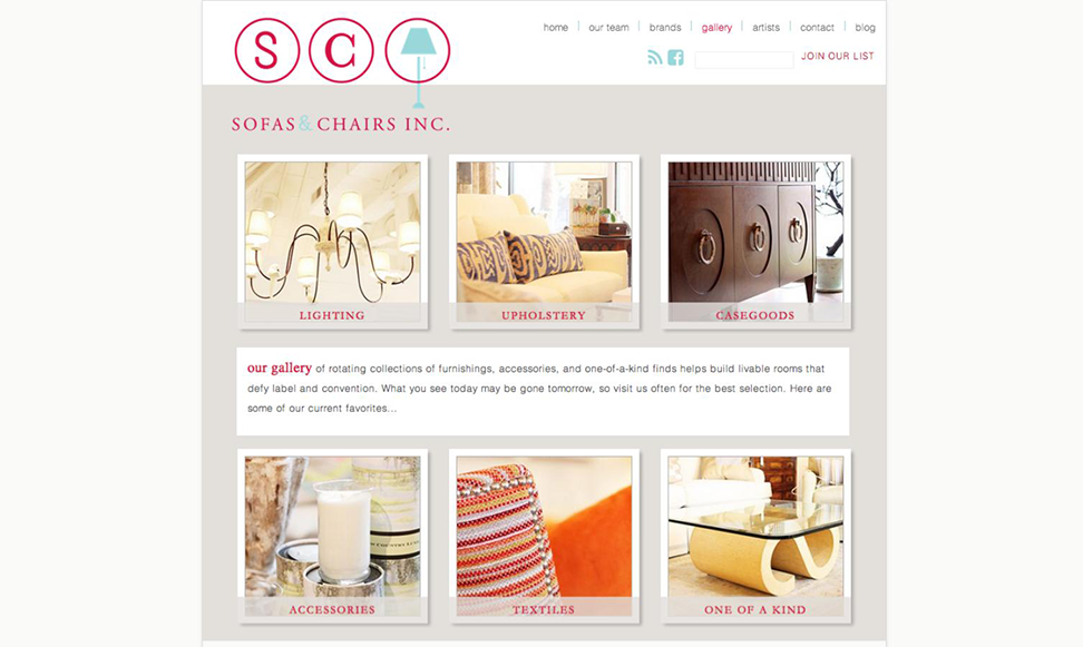 Sofas & Chairs Inc.